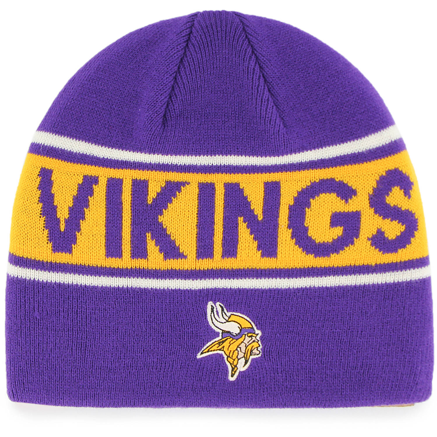 NFL Minnesota Vikings Bonneville Knit Beanie by Fan Favorite