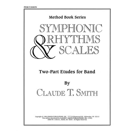 Hal Leonard Symphonic Rhythms & Scales (Two-Part Etudes for Band and Orchestra Percussion) Concert Band Level 2-4 Hal Leonard Master Scale