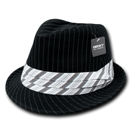 Pinstriped Fedora Hat, Style 556