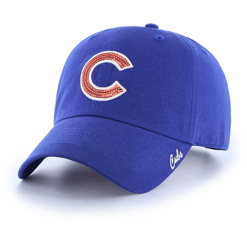 MLB Chicago Cubs Sparkle Women's Adjustable Cap Hat by Fan Favorite by Overstock