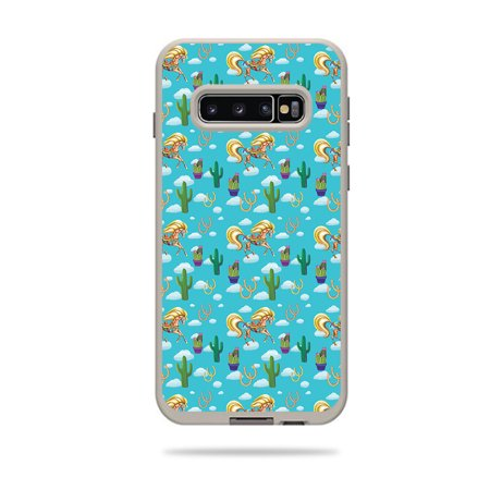 Skin For Lifeproof Fre Case Samsung Galaxy S10+ - Horse Ranch | MightySkins Protective, Durable, and Unique Vinyl Decal wrap cover | Easy To Apply, Remove, and Change