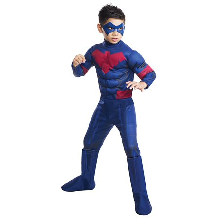 Batman Unlimited Nightwing Deluxe Costume, Child's Large, Rubie's Costume Batman Unlimited Nightwing Deluxe Child Costume, Large By Rubie's - Nightwing Costume