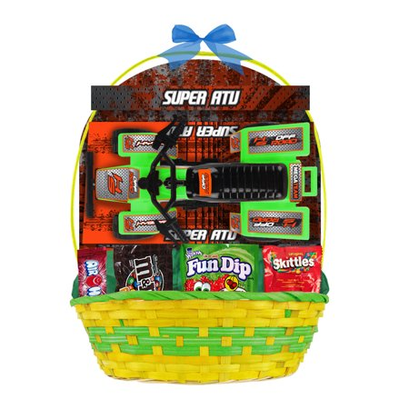 Easter basket with atv vehicle candies item or color may vary easter basket with atv vehicle candies item or color may vary negle Images