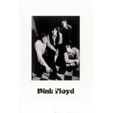 Pink Floyd Group Photo Poster Print  20 X 28