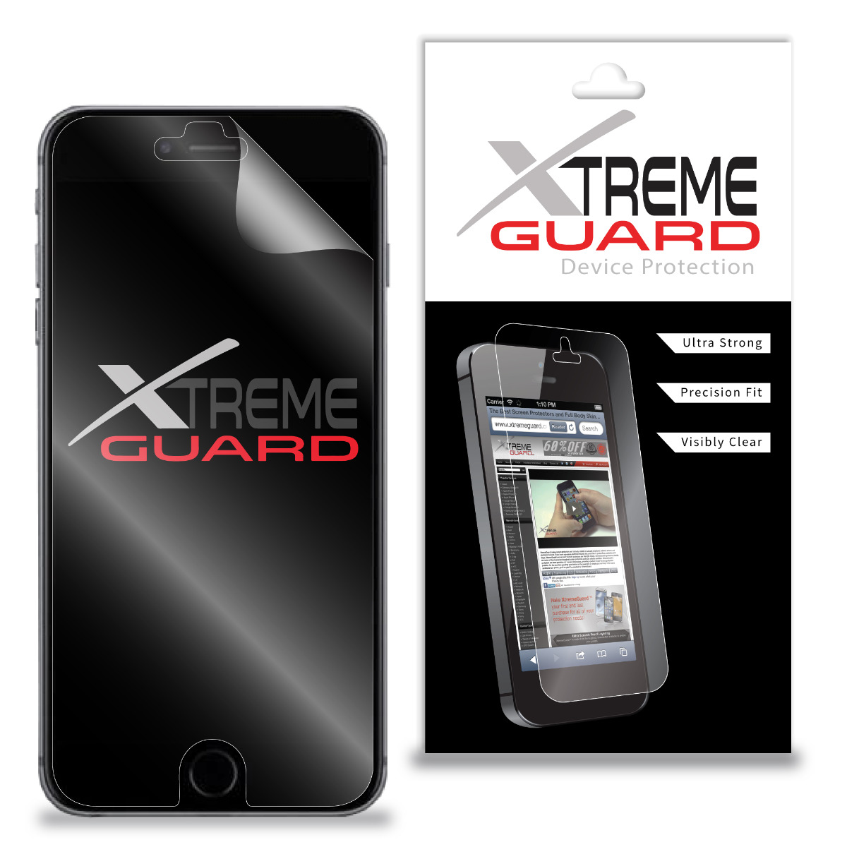 Premium XtremeGuard™ Screen Protector Cover for Allview V1 Viper S (Ultra Clear)