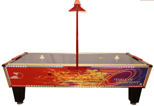 Gold Standard Games Gold Flare Home Plus Air Hockey Table (with compact overhead scoring... by Gold Standard Games