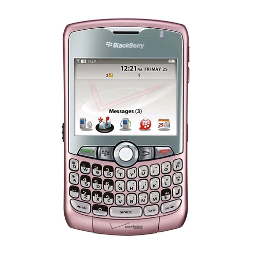 bulk Blackberry Packaging - Phone Toy com Dummy 8330 Walmart Curve pink Replica