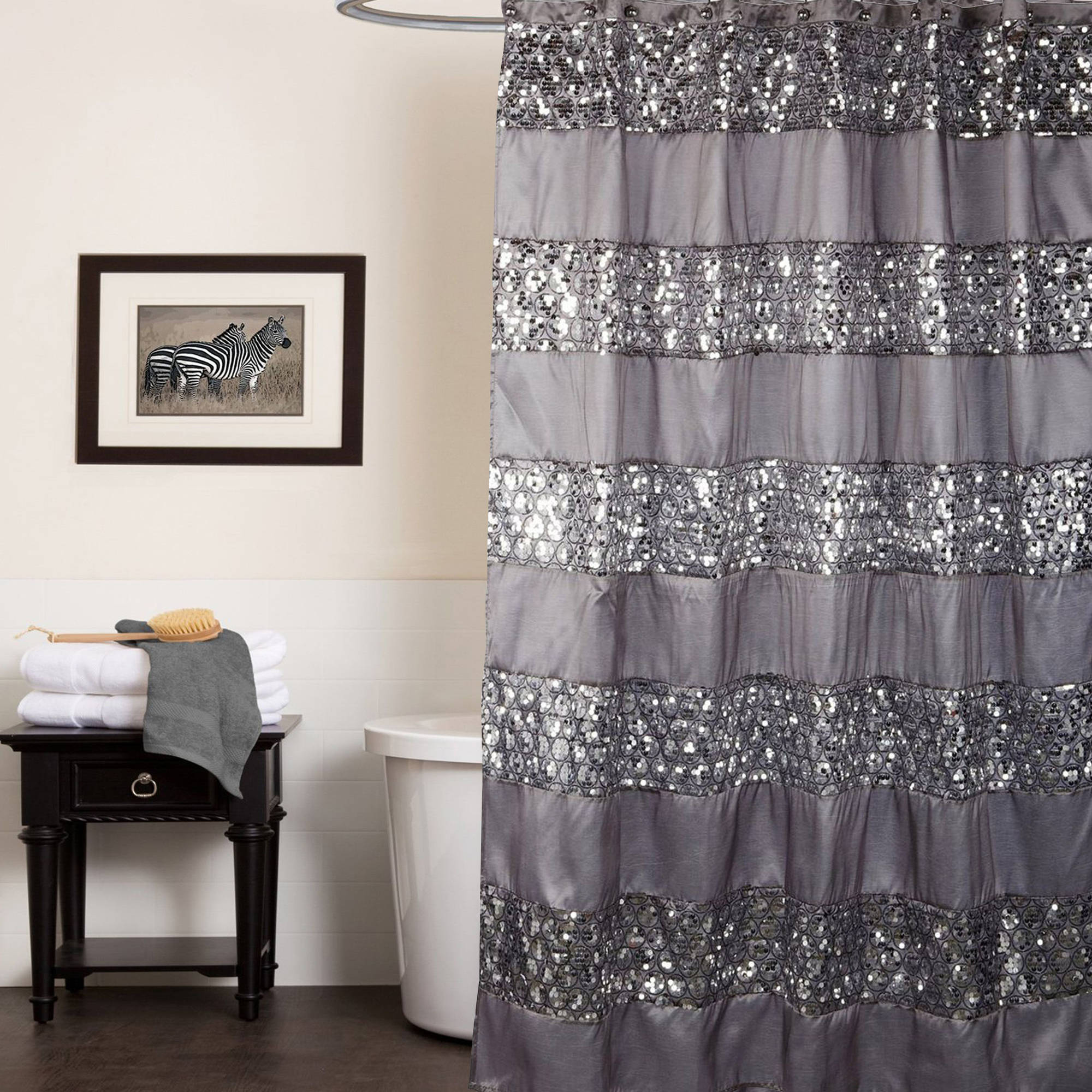 Brown shower curtains - Brown Shower Curtains 54
