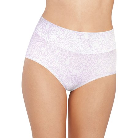 Bali Rose (Bali Womens Passion for Comfort Brief, 6, Lilac Rose Link Print)