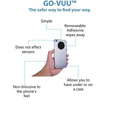Go Vuu Universal Cell Phone Holder   Your Phone Stays Vertical Even When Steering Wheel Turns   Stay Safe And Be Hands Free   Gps  Video Chat   More For Cars  Trucks  Suvs   Pat  Pend