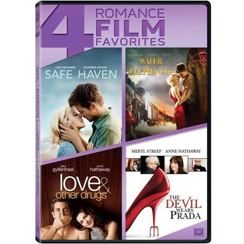 4 Romance Film Favorites: Safe Haven   Water For Elephants   Love And Other Drugs   The Devil Wears Prada by Twentieth Century Fox