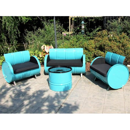 Drum Works Tucson Outdoor Garden Patio Seating Cushion