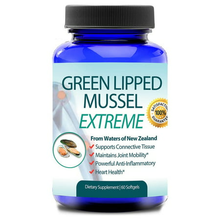 New Zealand Green Lipped Mussel Joint Health and Arthritis Care (60 (Best Green Lipped Mussel Supplement)