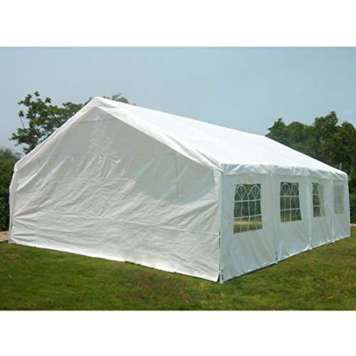 Click here to buy Quictent 13x26 16x32 20x26 20x32 20x40 Heavy Duty Outdoor Gazebo Party Wedding Tent Canopy Carport Shelter with....