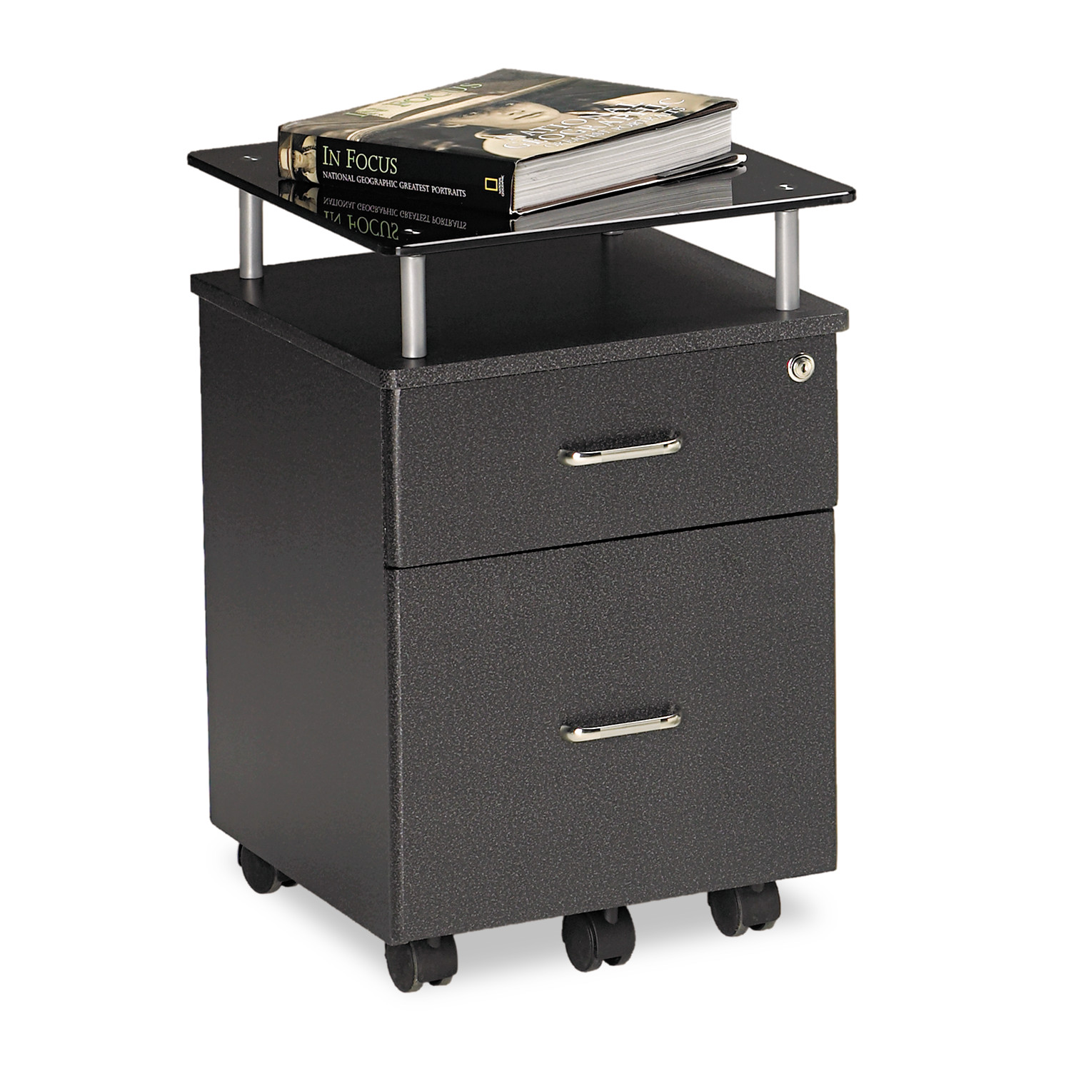 Mayline 2 Drawers Vertical Lockable Filing Cabinet,