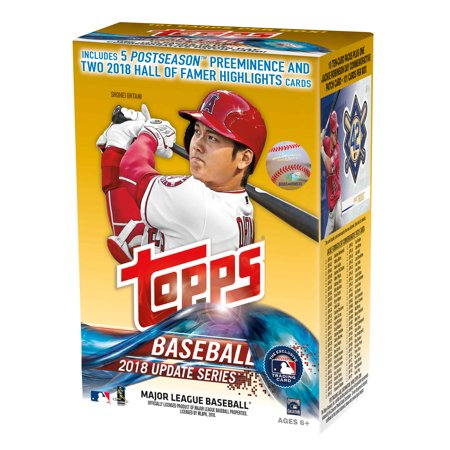Topps Baseball Cello - 2018 Topps Updates Baseball Walmart Value Box