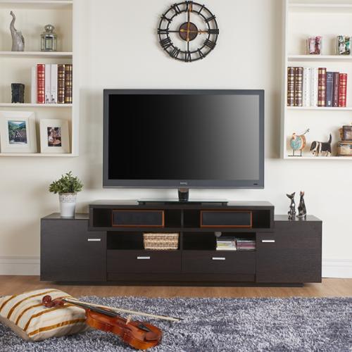 Furniture Of America 72 Inch Peyson Modern Tiered Tv Stand Walmart Com