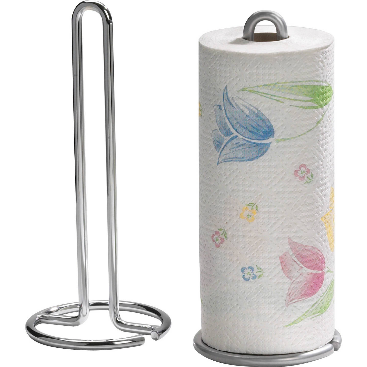 Spectrum Euro Paper Towel Holder, Chrome