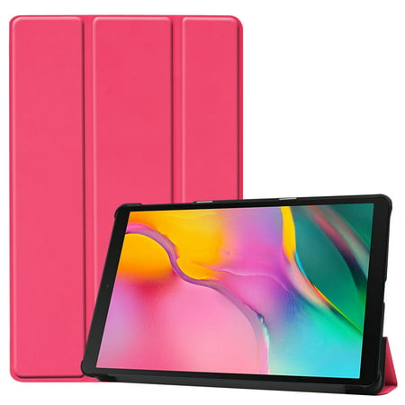 Case for Galaxy Tab A 10.1 2019 T510/T515, Slim Tri-Fold Folding Shell Cover for Samsung Galaxy Tab A 10.1 Released in 2019 (Hot (Best Rated Hot Tubs 2019)