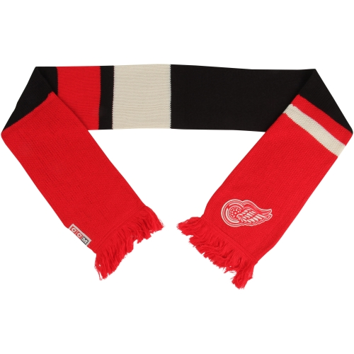 Detroit Red Wings Reebok Heritage Scarf - No Size