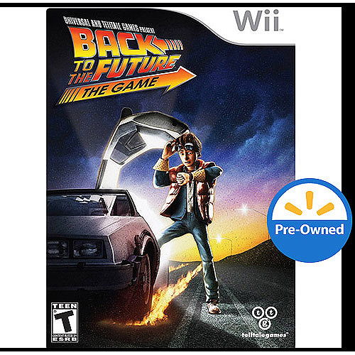 Back To The Future (wii) - Pre-owned