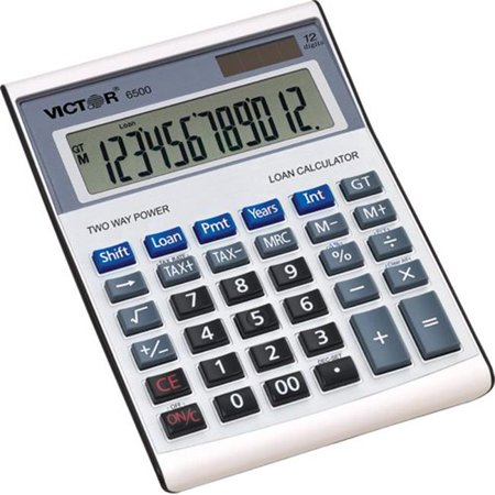 12 Digit Executive Desktop Financial Calculator with Loan