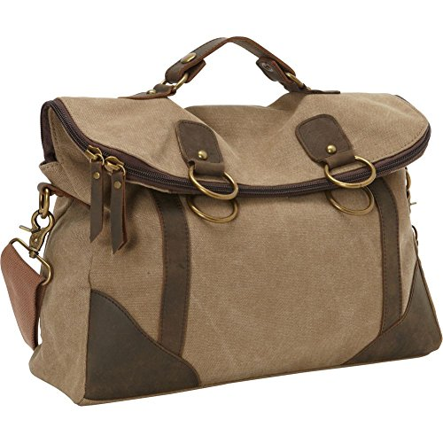 Laurex Converitible Messenger Bag (Khaki)