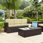 Crosley Palm Harbor Outdoor Wicker Sofa