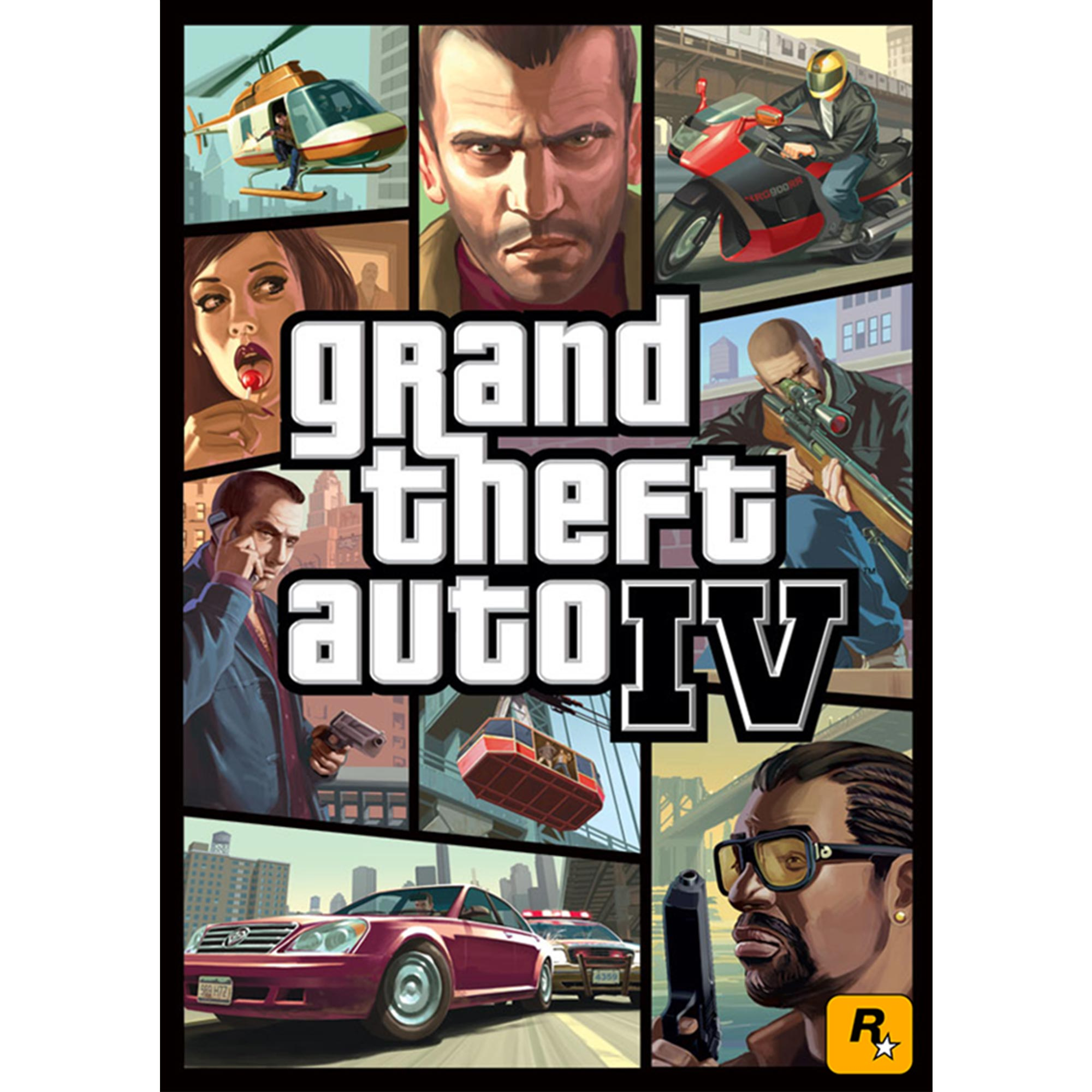 Grand Theft Auto IV (PC)(Digital Download)