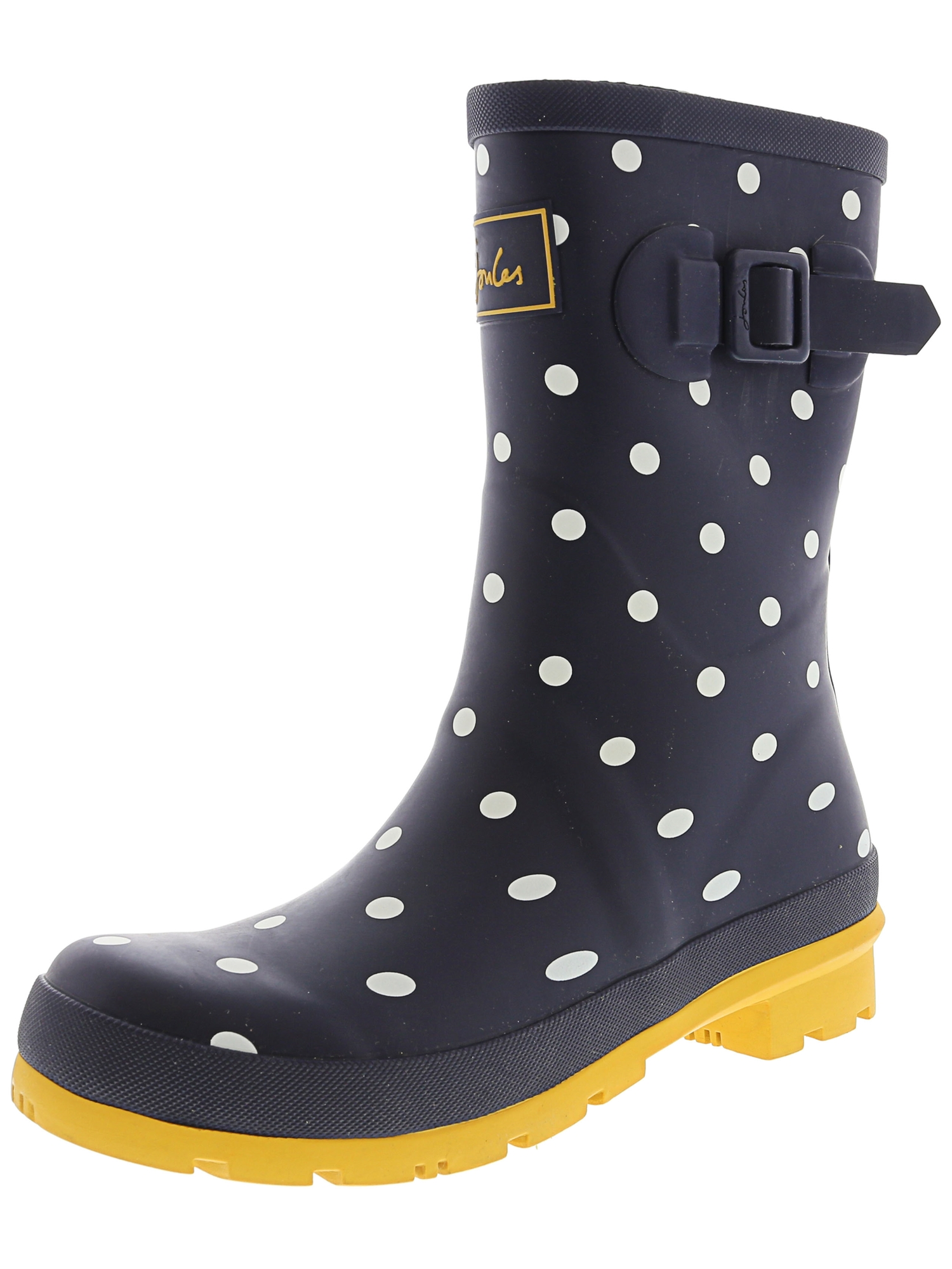 2c214ea94 Joules - Joules Women's Molly Welly Black Clematis Knee-High Rubber Rain  Boot - 6M - Walmart.com
