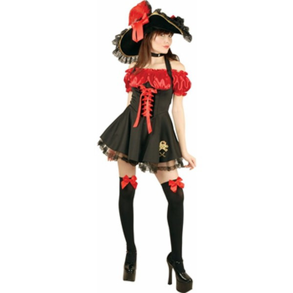 Teen Sassy Storybook Pirate Costume by