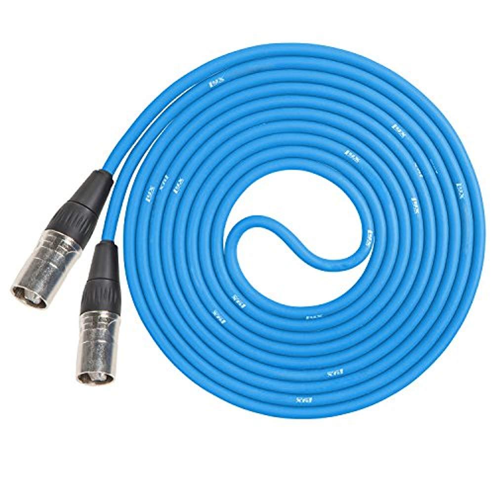 LyxPro CAT6 Shielded Ethercon RJ45 Cable - 50' Feet Blue - image 3 de 3