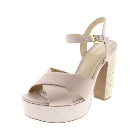 6acde75fccd6 MICHAEL Michael Kors Womens Sia Suede Embellished Dress Sandals