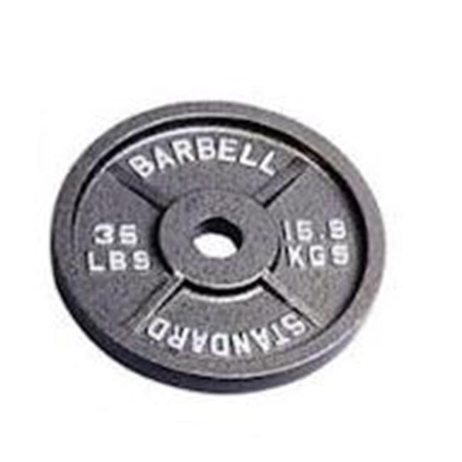 Troy Barbell BO-035 USA Sports Black Olympic Plate