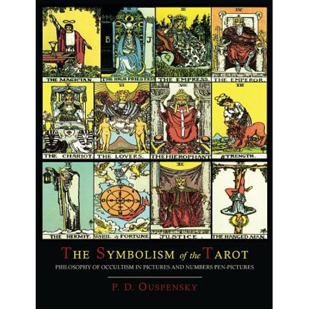 The Symbolism of the Tarot [Color Illustrated Edition] - Halloween Colors Symbolism