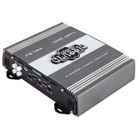PYRAMID PB715X - 1000 Watts 2 Channel Bridgeable Car Amplifier ()