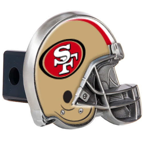 """Great American Products San Francisco 49er's Helmet Trailer Hitch Cover Helmet Trailer Hitch Cover"""
