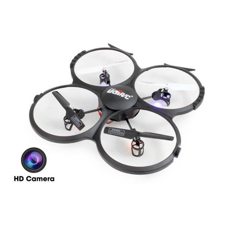 Udi U818a Hd 2 4Ghz 4 Ch 6 Axis Headless Rc Quadcopter With Hd Camera And Bonus Battery