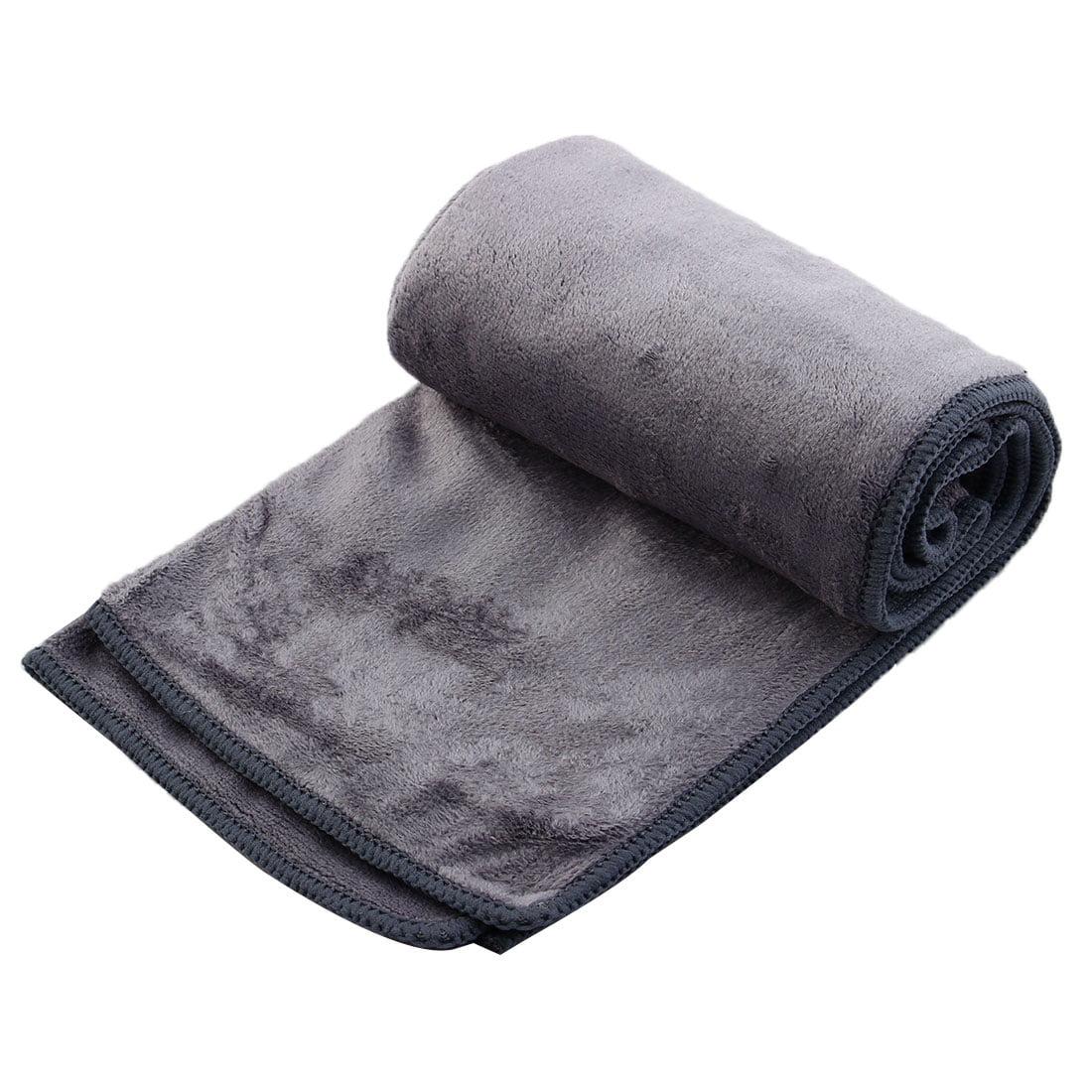 Travel Swimming Hiking Camping Shower Beach Absorbent Quick Drying Towel Gray Walmart Com Walmart Com