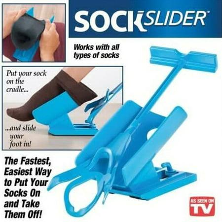 New Sock Slider Aid Helper Easy On / Easy Off Sock Slider ...