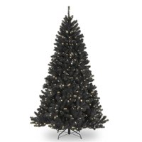National Tree NRVK7-300-75 7.5 ft. North Valley Black Spruce Tree with 550 Clear Lights