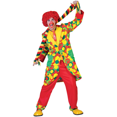 Bubbles Clown Adult Halloween Costume
