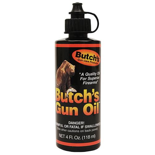 Lyman Butch's Bench Rest Gun Oil 4oz SKU: 02948 with Elite Tactical Cloth by Lyman