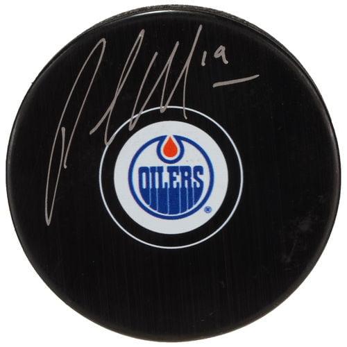 Patrick Maroon Edmonton Oilers Fanatics Authentic Autographed Hockey Puck - No Size
