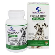 Vital Planet - Flora Dog 20 Billion Daily Probiotic Delayed Release - 30 Vegetable Capsule(s)