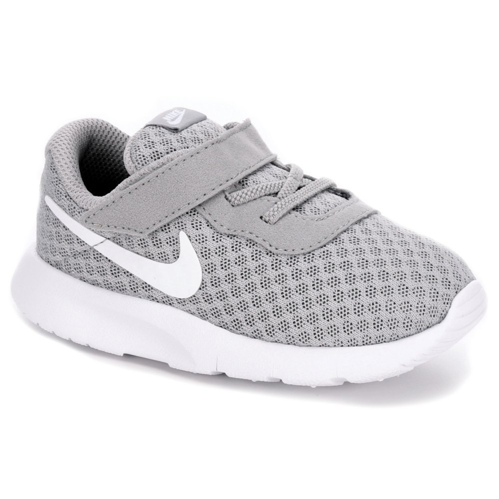 Nike 818383-012: Toddler Tajun Wolf Grey White White Runn...