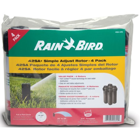 Rain Bird 42SA+/4PKS 42SA+ Simple Adjust Rotor 4 (Rain Bird Sprinkler System Not Turning On)