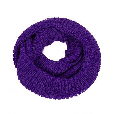 HDE Women's Winter Infinity Scarf Warm Knit Wrap Circle Loop Thick (Knitted Winter Wrap)