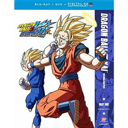 Dragon Ball Z Kai: The Final Chapter - Part One (Blu-ray + DVD + Digital (Dragon Ball Z For Kinect Part 1)