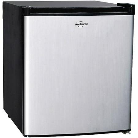 Koolatron 1.7 Cu Ft Compact Refrigerator BC46SS, Stainless
